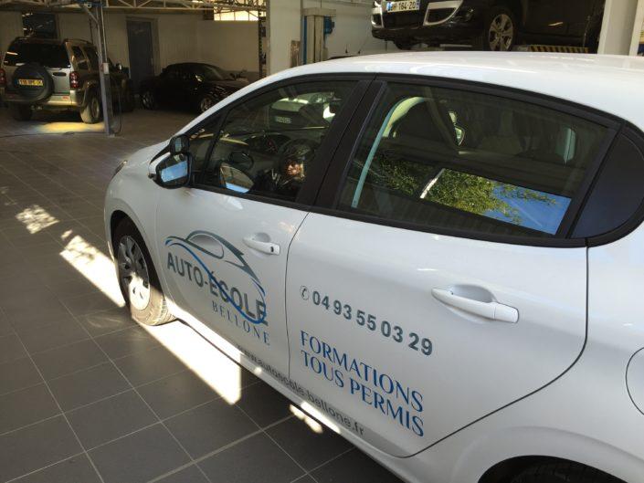 Partenaire auto école Bellone conduite et transfert multi-handicap